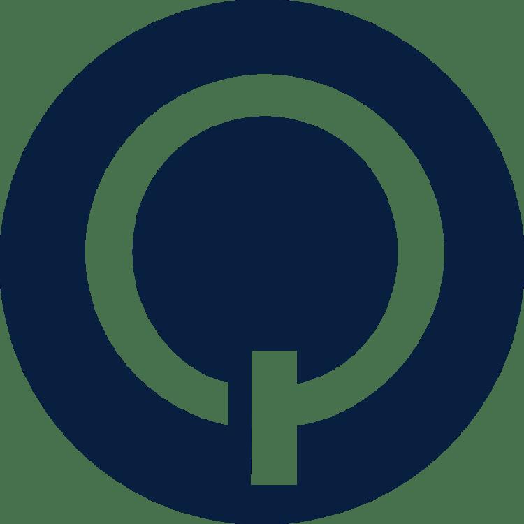 Q logo Blue