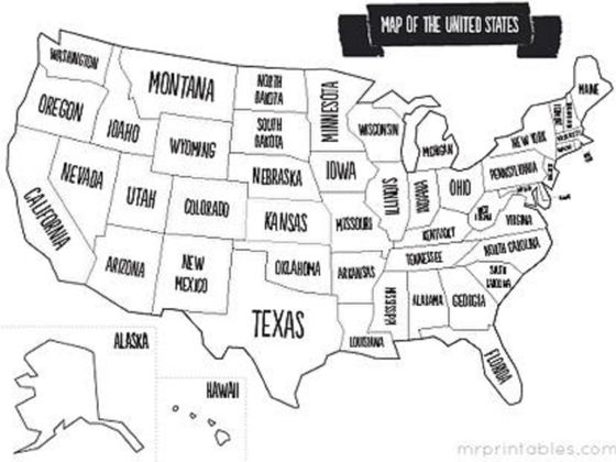 Do You Know All The U.S.A. State Capitals? • Quiz Cow