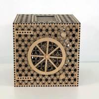 Komplexe Holz-Puzzle-Box
