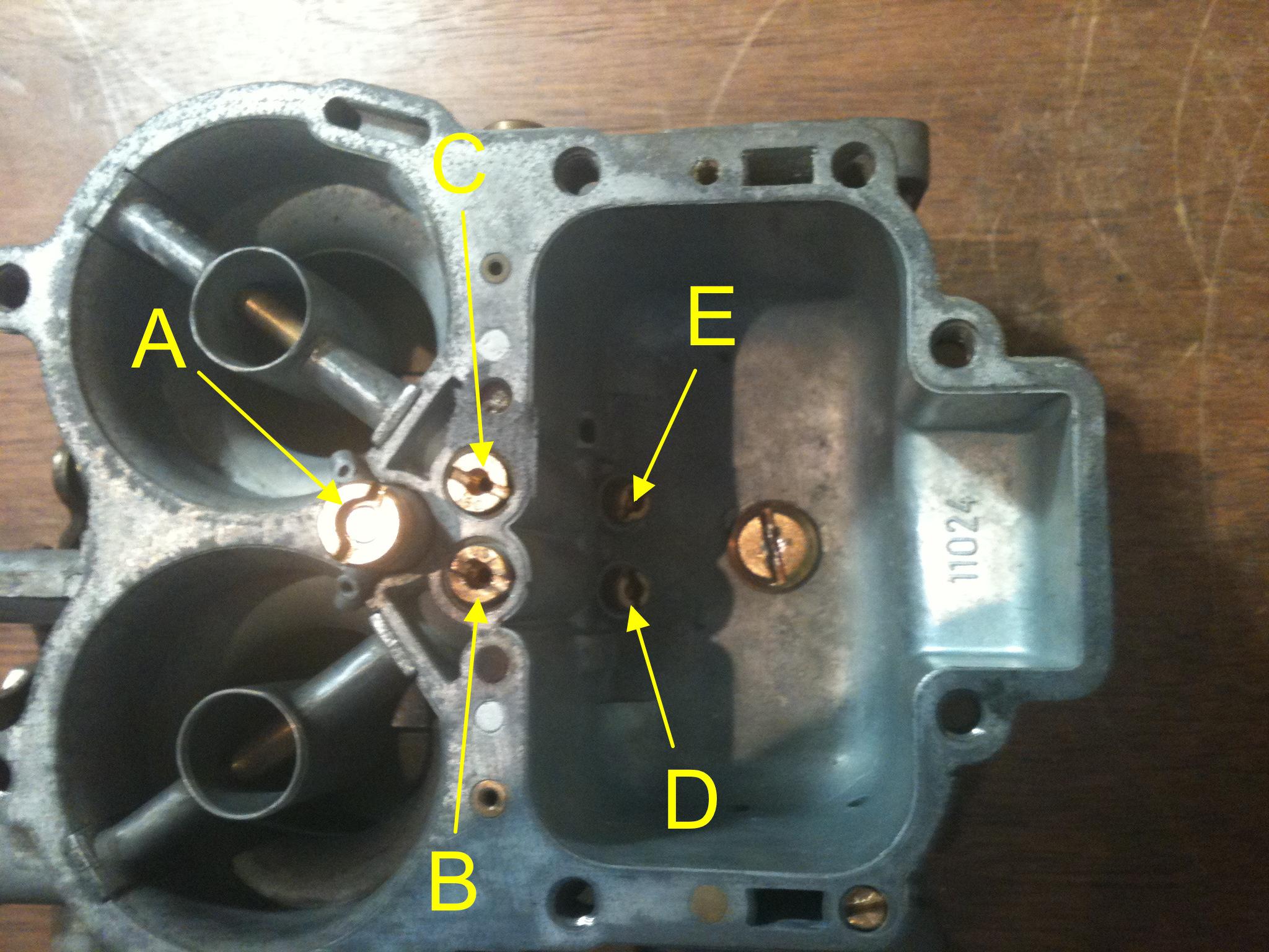 22r carb diagram air intake