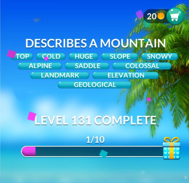 Word Stacks Levels 131140 Answers and Cheats  Qunb