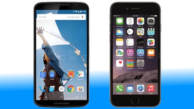 iphone6 nexus6