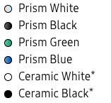 Colores Galaxy S10 Puls