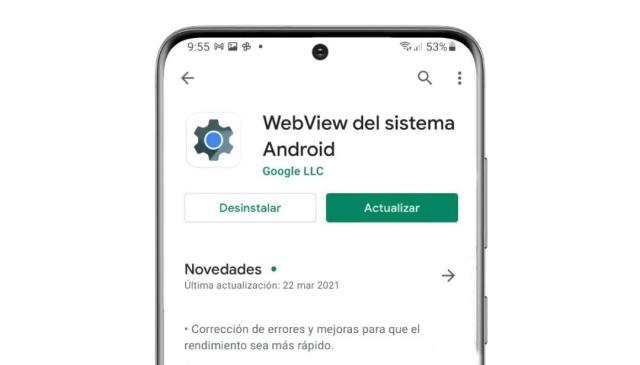 error webview