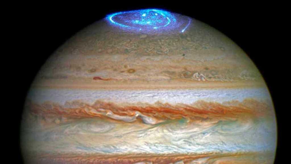 Jupiter-auroras