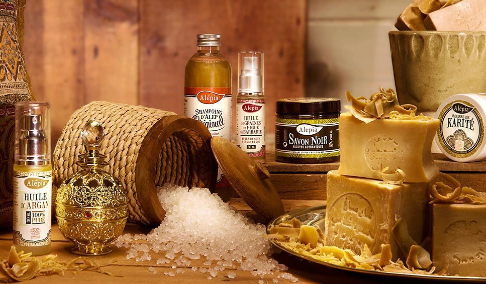 produits cosmétiques naturels Alepia - Savon d'Alep