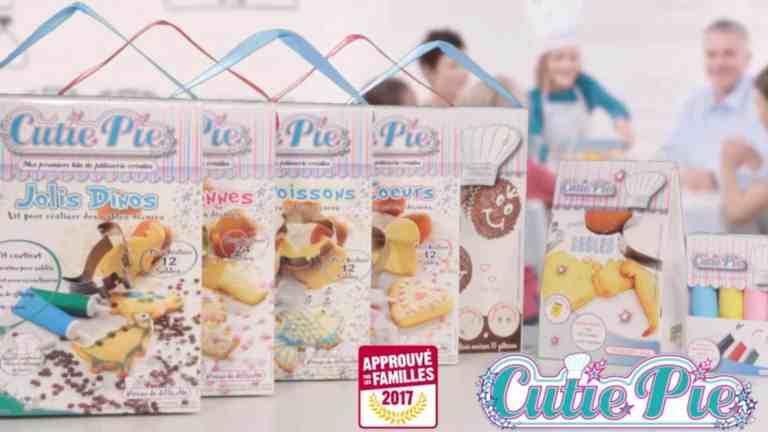 Les kits de Noël Cutie Pie pour enfants