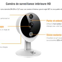 Kiwatch vidéo bienveillance - Caméra vidéo