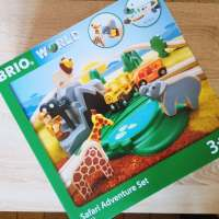 Brio World Circuit Reportage Safari - Train