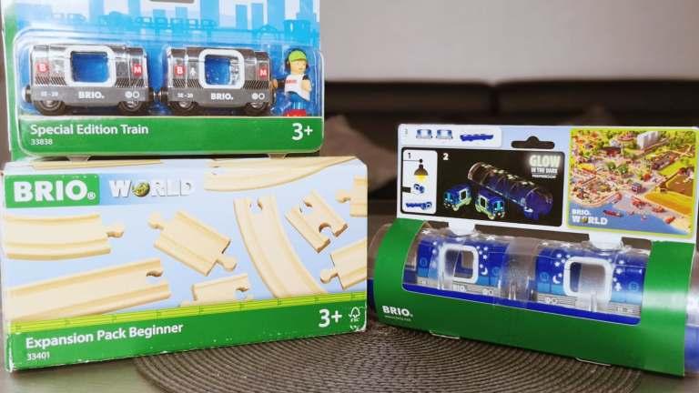 Le métro s'invite dans l'univers de BrioWorld