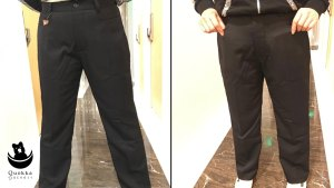 Trousers with Pockets: Production Update