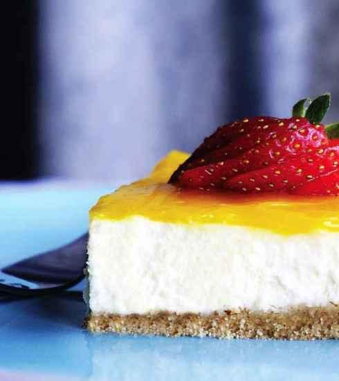 Quootip | Cheesecake al limone e fragole