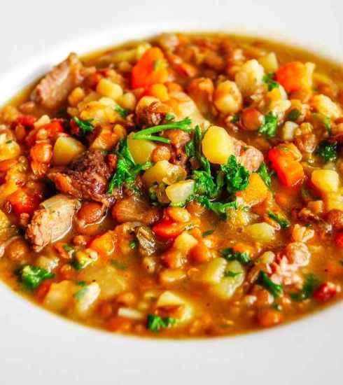 Quootip | Zuppa di lenticchie e verdure