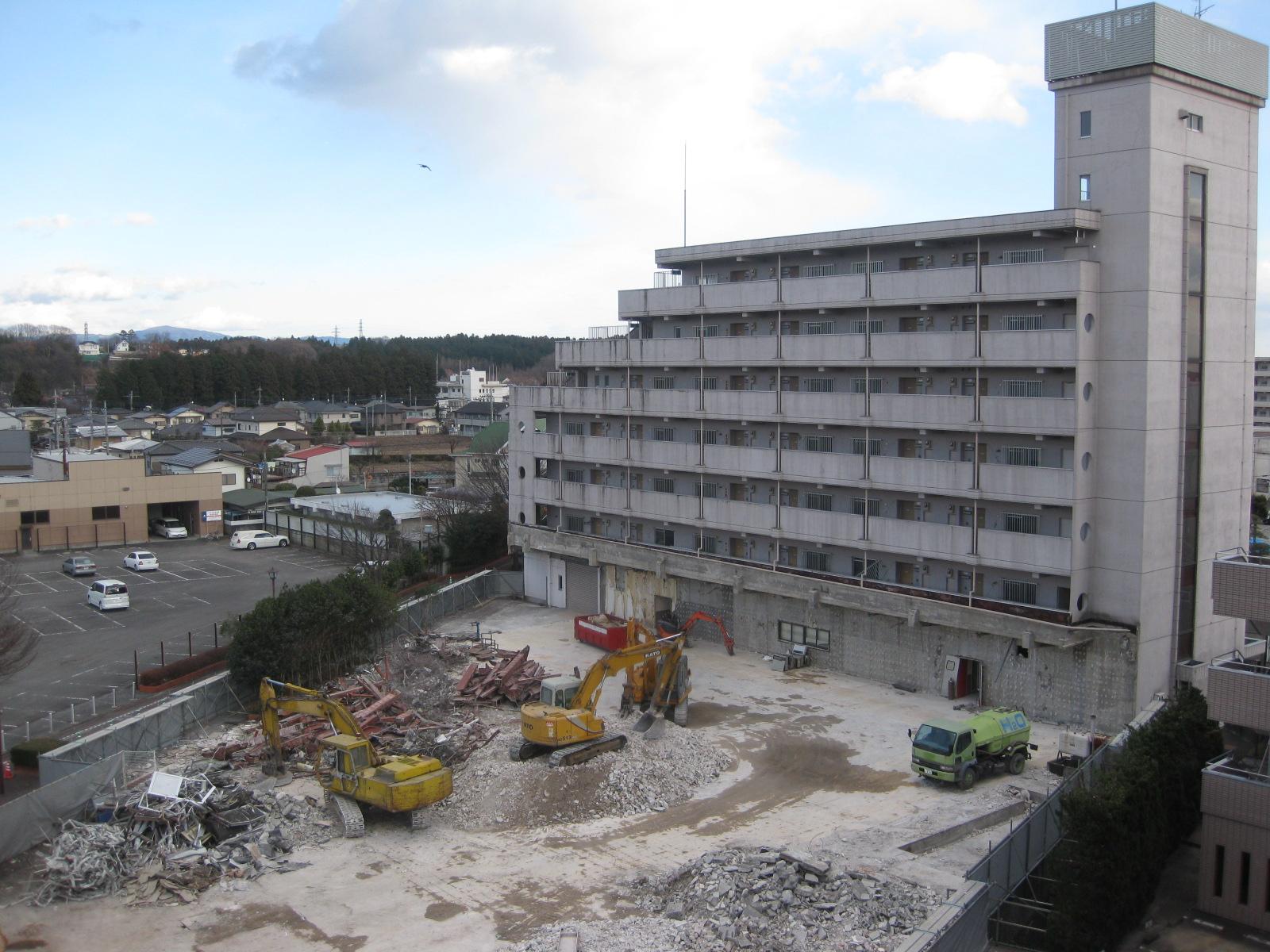 旧ビバホーム 解体工事