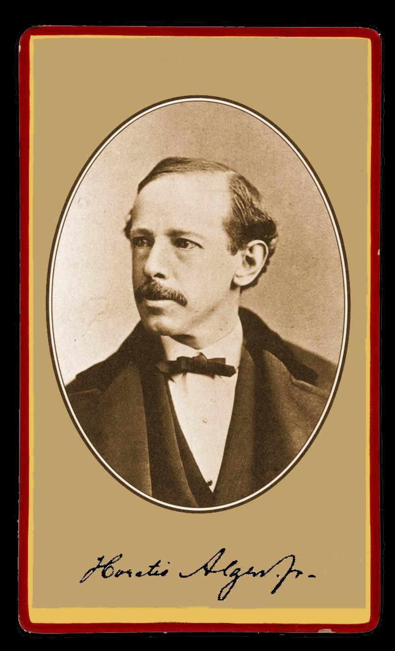 Horatio Alger Biography Horatio Alger's Famous Quotes ...