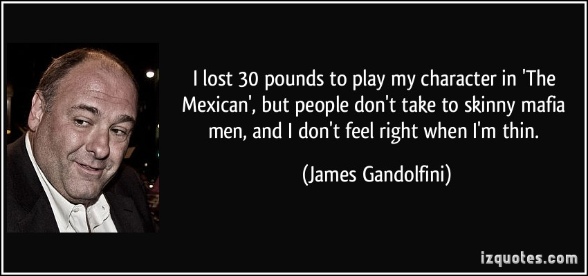 John Gotti Quotes Wallpapers James Gandolfini S Quotes Famous And Not Much Sualci