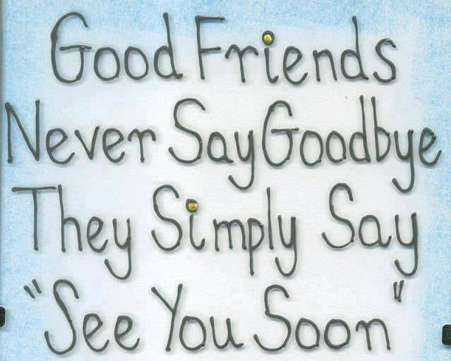 Image result for farewell to a friend