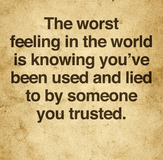 Quotes About Being Betrayed
