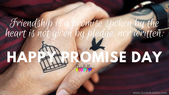 Happy Promise Day Quotes, Wishes, Status, SMS 2018 [English]