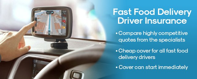 Compare Fast Food Delivery Driver Insurance at Quote Chief
