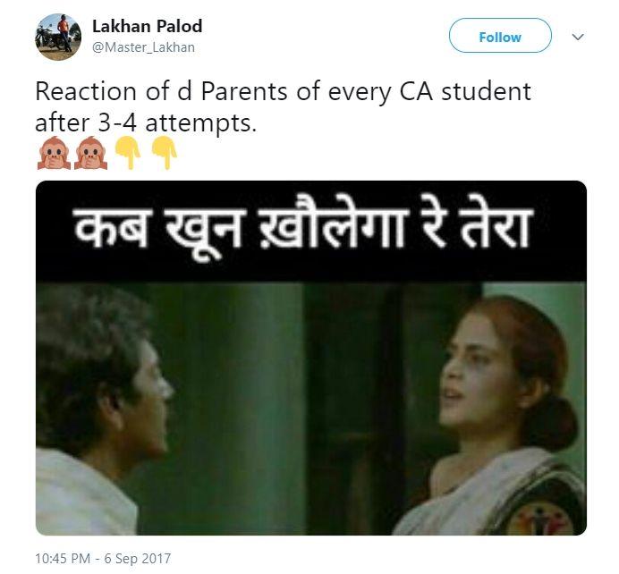 reaction of CA parents