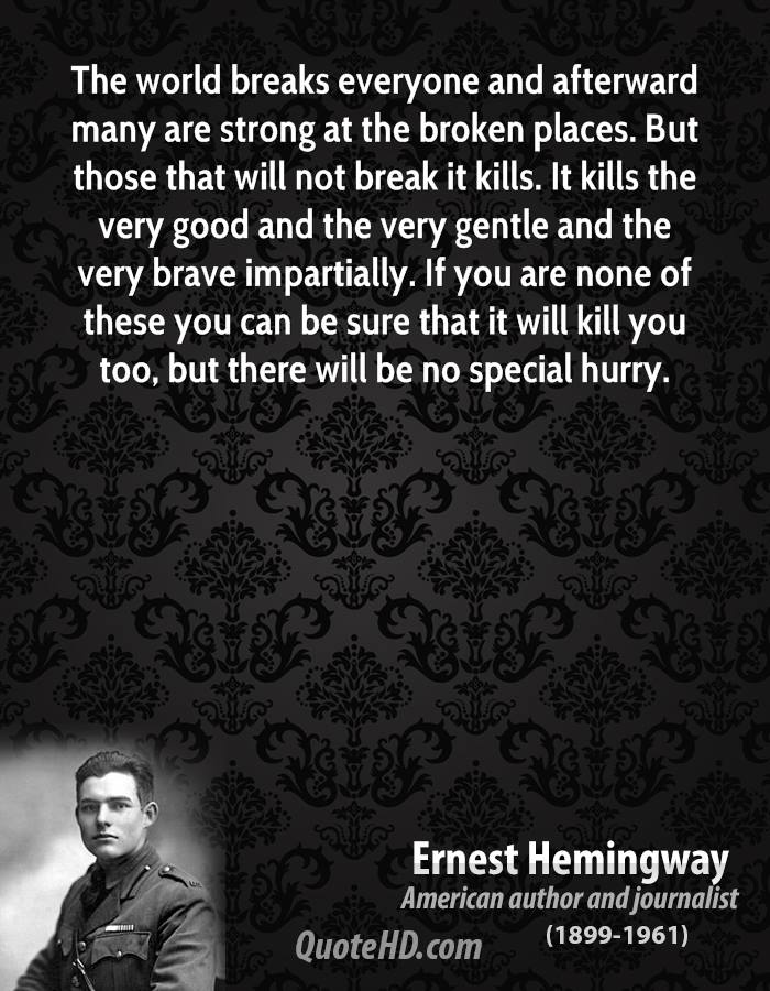Image Result For Ernest Hemingway Goodreads Quotes