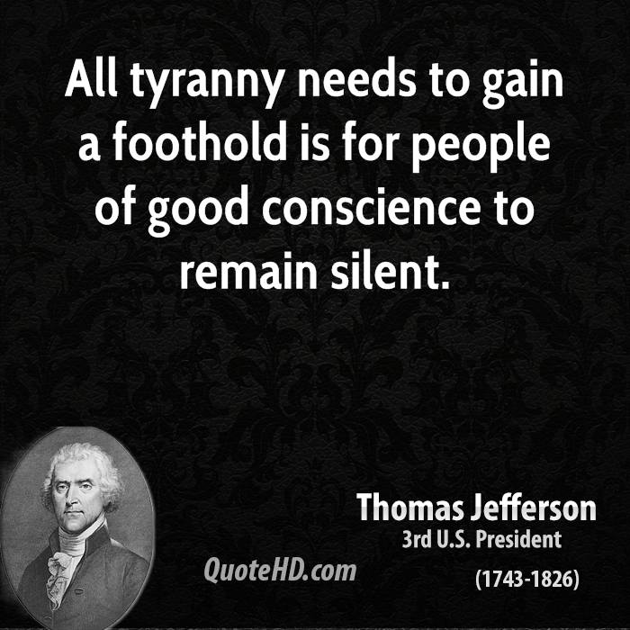 Image result for thomas jefferson and tyranny