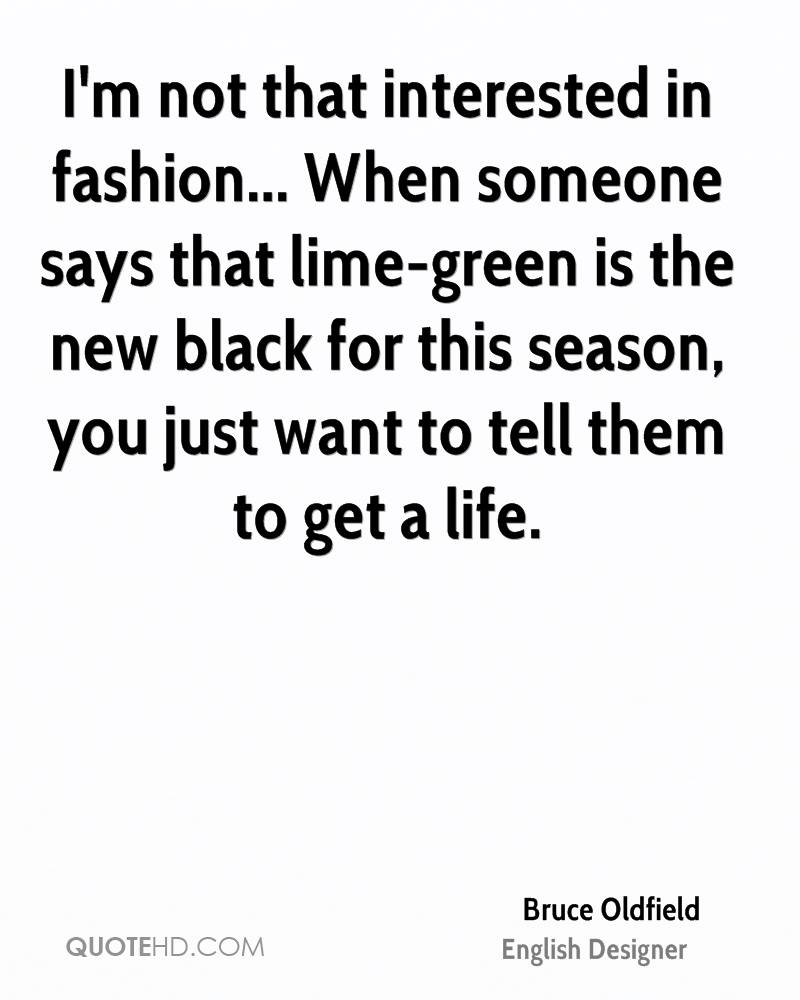 Quotes On Life Fashion Designer. QuotesGram