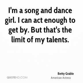 Betty Grable Quotes. QuotesGram