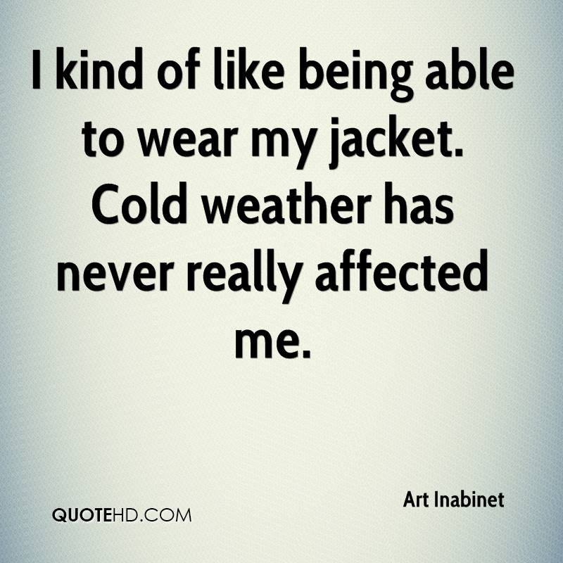 Quotes Sick Being About Cold Funny