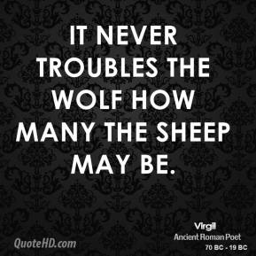 Wolf And Sheepdog Quote Wallpaper Virgil Quotes Quotehd