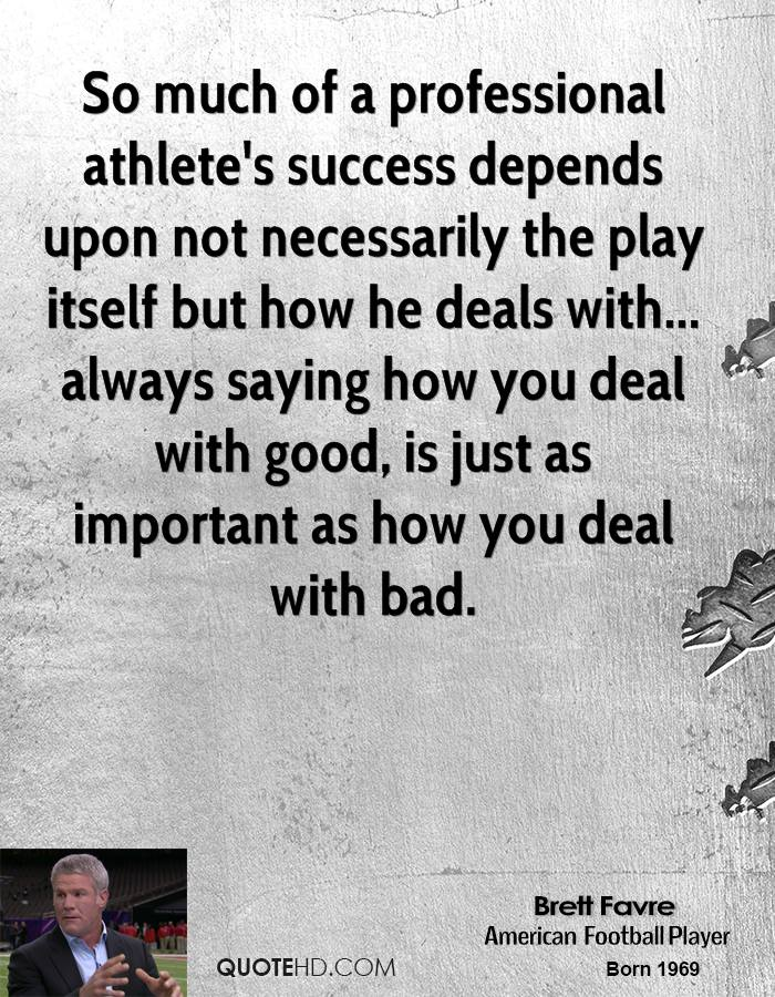 Athlete Quotes Success