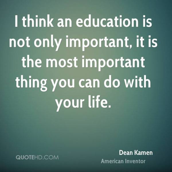 Important Quotes About Education