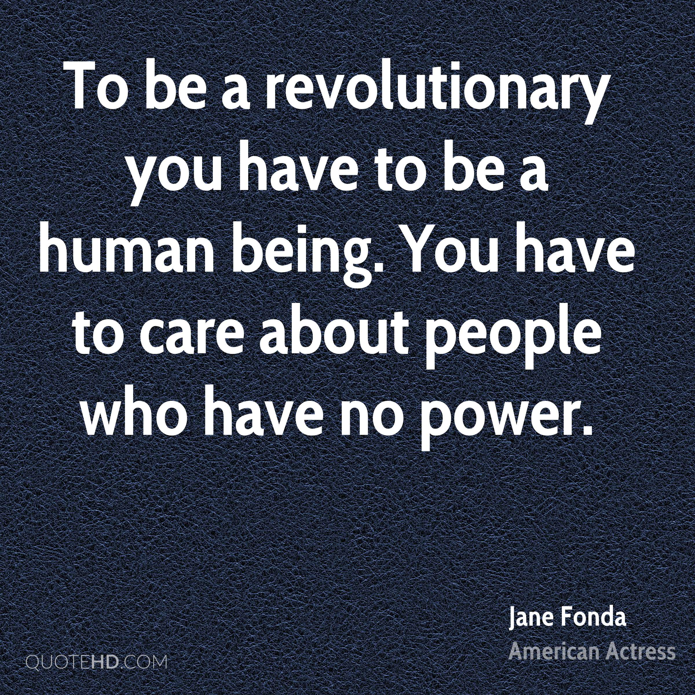 Image result for be a revolutionary