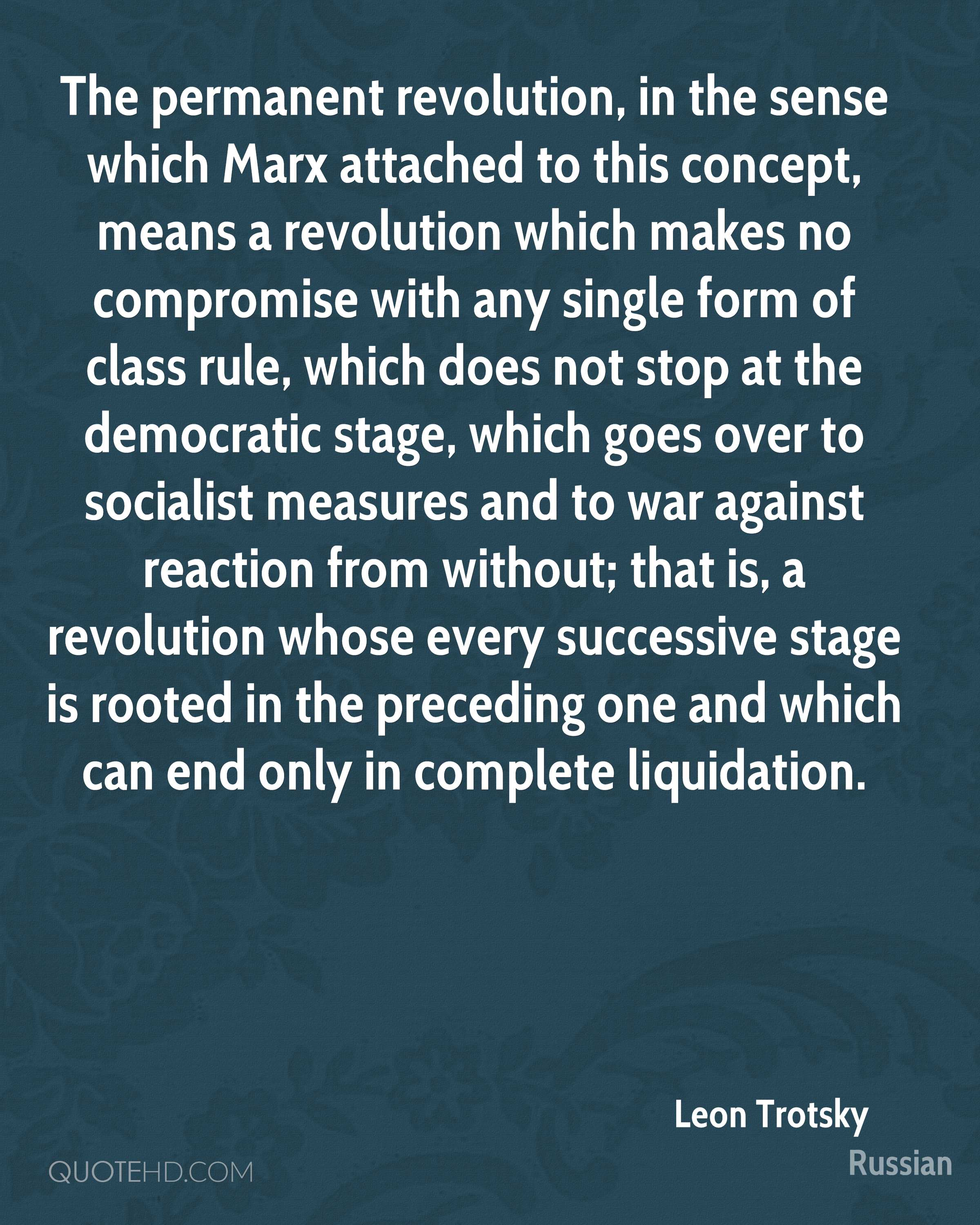 Revolution Quotes Leon Trotsky Quotes On Revolutions Picture