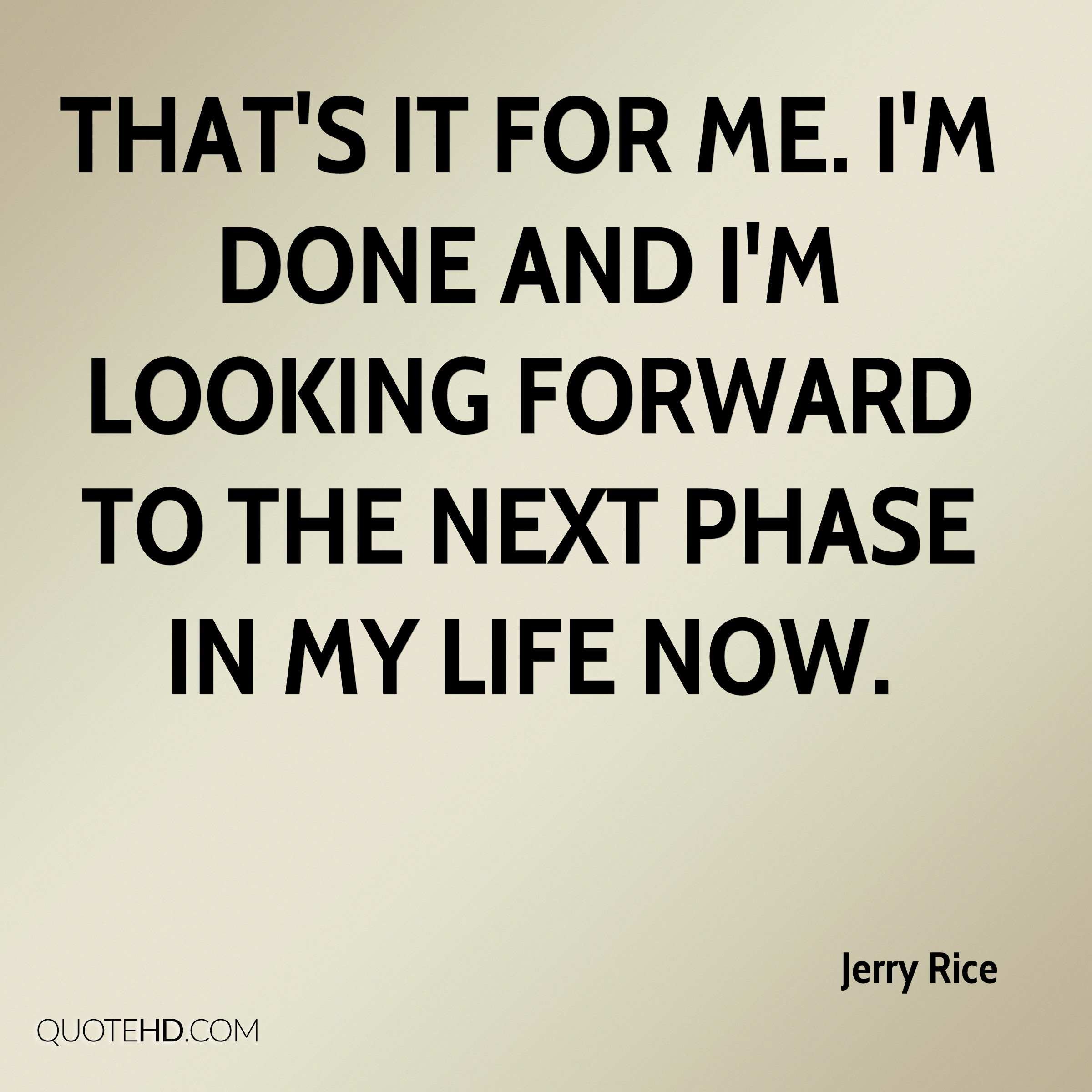 Jerry Rice Quotes