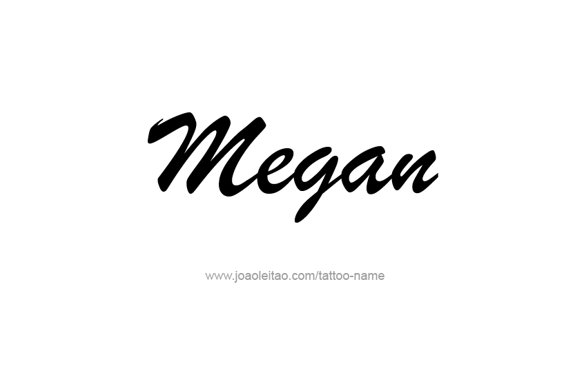 Quotes about Name megan (12 quotes)