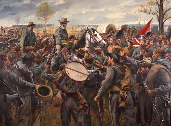 American Civil War Soldier Paintings