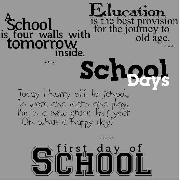 Best Quotes For Missing School Days