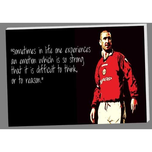 Eric cantona — 'when the seagulls follow the trawler, it is because they think sardines will be thrown into the sea. Quotes About Cantona 25 Quotes