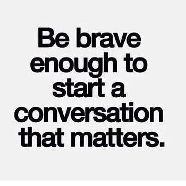 Quotes about Having difficult conversations (19 quotes)