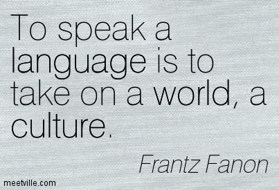 Quotes about Culture And Language (75 quotes)