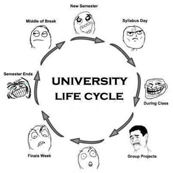Quotes about University life funny (12 quotes)