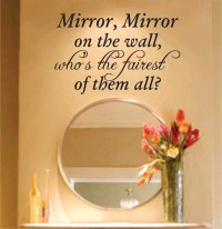 Quotes about Mirror Mirror On The Wall (22 quotes)