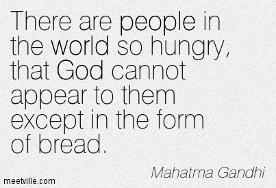 Quotes about End world hunger (30 quotes)