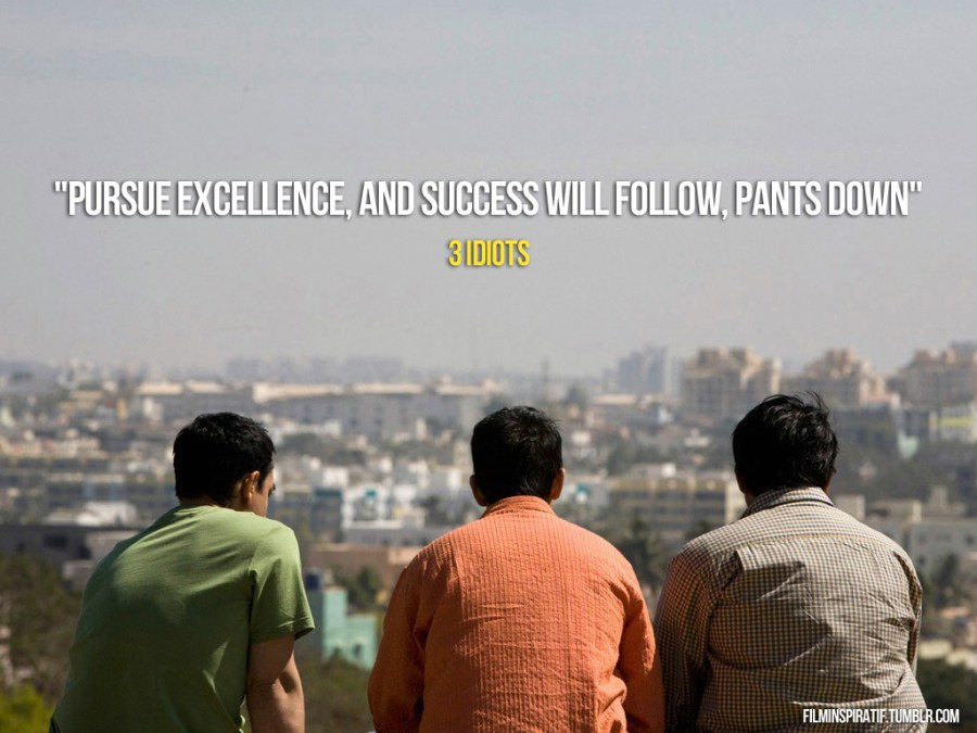 Quotes about 3 idiots