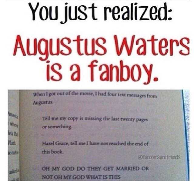 Image result for augustus waters quote