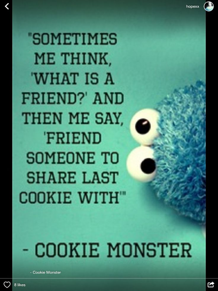 Cookie Monster Quote Wallpaper Quotes About Cookie Monster 33 Quotes