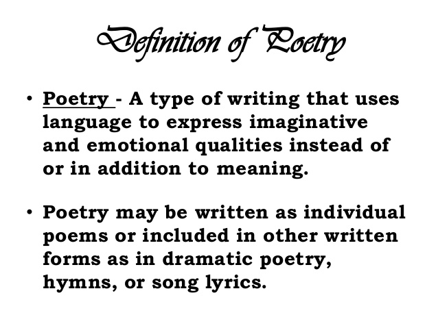Quotes about What poetry means (30 quotes)