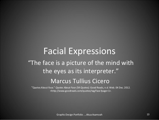 Quotes About Eye Expression 34 Quotes